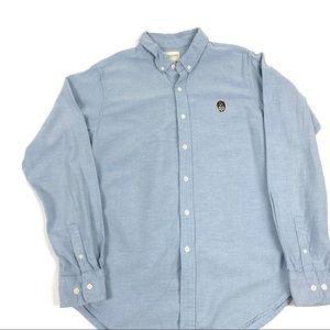 Men's Obey button down shirt sz L